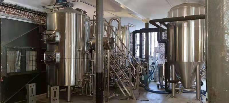 10HL Brewery Installed in Brussels-Belgium